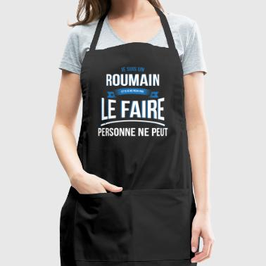 Romanian nobody can gift - Adjustable Apron