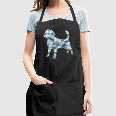 A dog, composed of geometric figures - Adjustable Apron