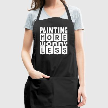 Painting More Worry Less - Adjustable Apron
