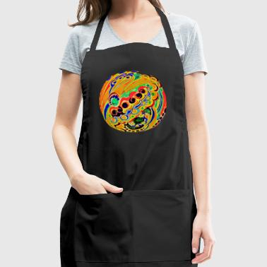 Psychedelic sphere - Adjustable Apron