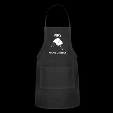 Pips make lonely table tennis ping pong - Adjustable Apron