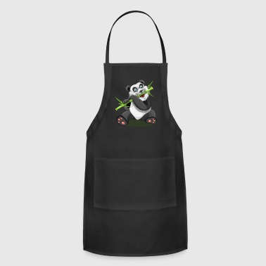panda sweet baby bamboo - Adjustable Apron