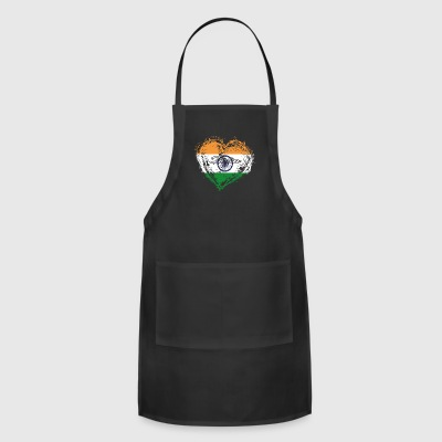 HOME ROOTS COUNTRY GIFT LOVE India - Adjustable Apron