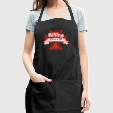 Abhaengig droge hobby geschenk iron cross eisernes - Adjustable Apron