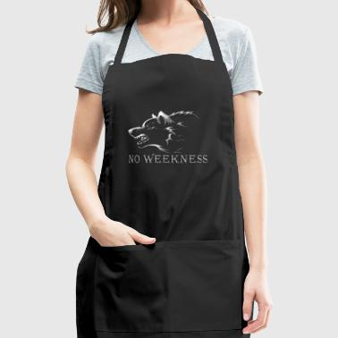 No Weakness [silver] - Adjustable Apron