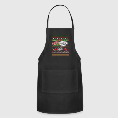 Motorcycle Shirt - Motorcycle Christmas Shirt - Adjustable Apron