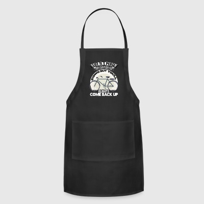 Life Is A Pedal T Shirt - Adjustable Apron