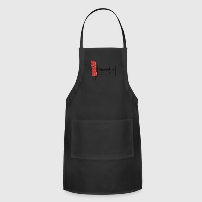 Snaccident When You Eat All The Bacon By Mistake - Adjustable Apron