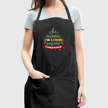 It's Beginning To Look A Lot Like Christmas - Adjustable Apron