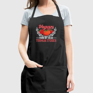 Tomatoes Vegan Vegan From My Head Tomatoes - Adjustable Apron