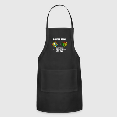 How To Solve Puzzle Cube - Funny Cubing - Adjustable Apron