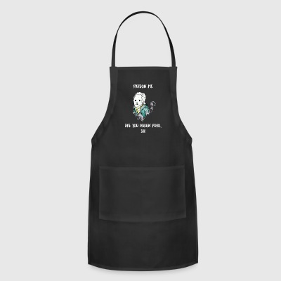 Funny Cat Kitty Kitten Shirt - The Hamilton Cat - Adjustable Apron