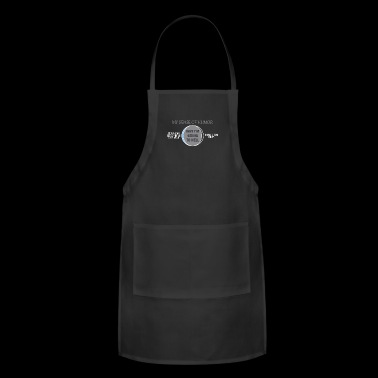 Humor Hell , my sense of humor - Adjustable Apron