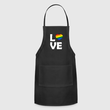 LGBT Love - Adjustable Apron