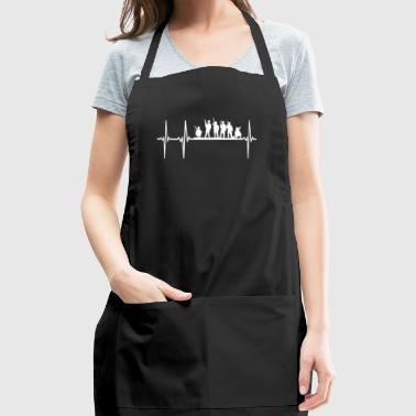 Military Heartbeat - Adjustable Apron