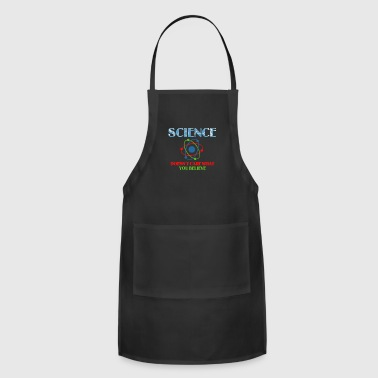 Best Science Shirt. Costume For Daughter/Son - Adjustable Apron