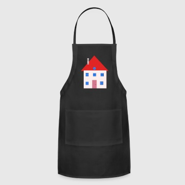 building house homes architektur haus gebaeude241 - Adjustable Apron