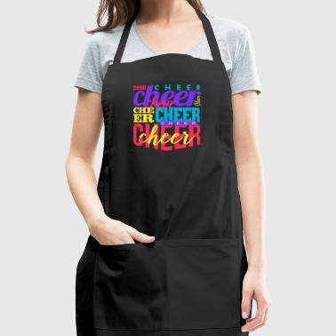 Cheer Cheer Cheer Cheer - Adjustable Apron
