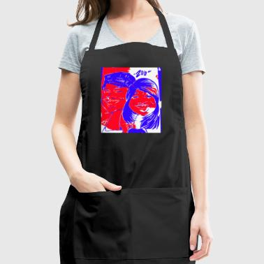 Happy Couple by Zon - Adjustable Apron
