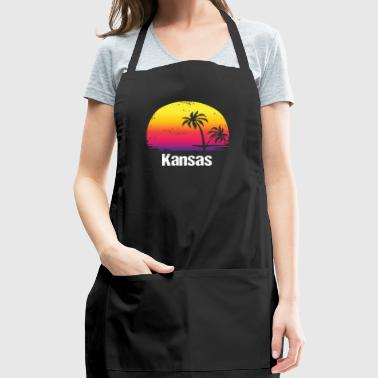 Summer Vacation Kansas Shirts - Adjustable Apron