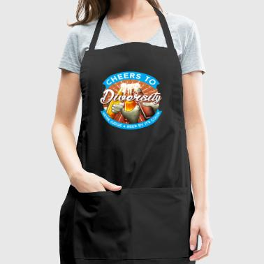 Cheers to Diversity - Adjustable Apron