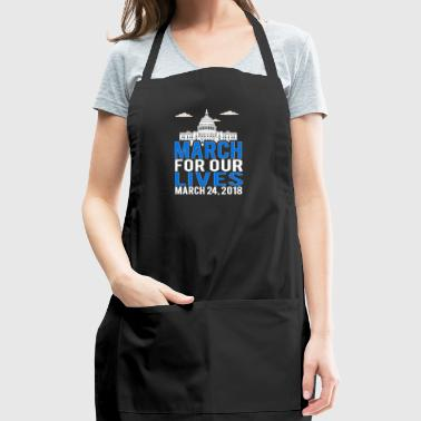March For Our Lives 2018 New York, Washington - Adjustable Apron