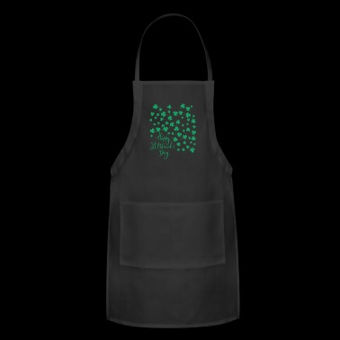 St.Patrick's Day Clover 2018 - Adjustable Apron