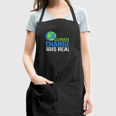 Climate Change Is Real Gift - Adjustable Apron