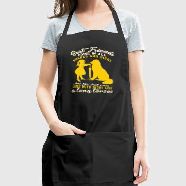 Dachshund T Shirt - Dachshund Best Friend T Shirt - Adjustable Apron