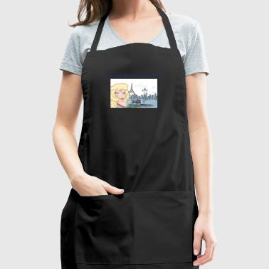 I'm Simply Too Fabulous for You Lady - Adjustable Apron