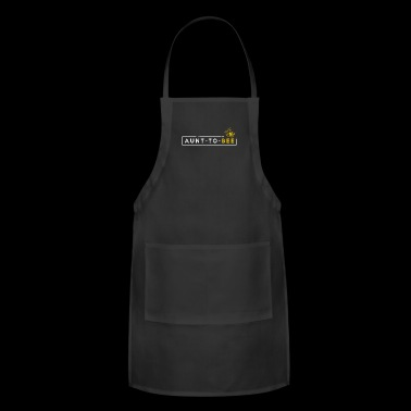 Aunt To Bee New Aunt Shirt Aunt Gift Aunt To Be Gifts - Adjustable Apron
