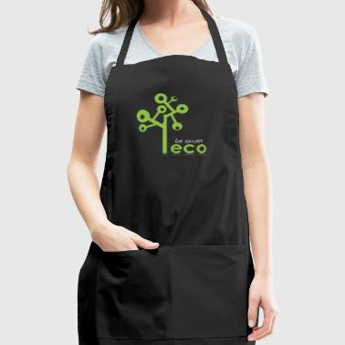 eco go green - be smart - Adjustable Apron