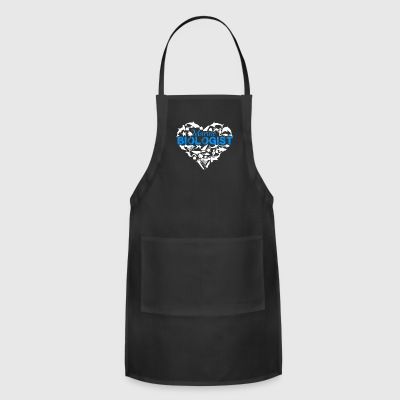 Marine Biologist Heart Shirt - Adjustable Apron