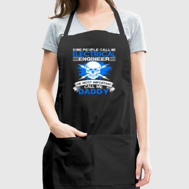 Electrical Engineer Daddy Shirt - Adjustable Apron