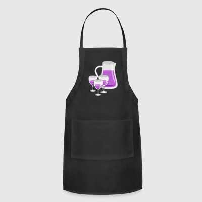 drinkspitcher drinks wein wine cocktails - Adjustable Apron