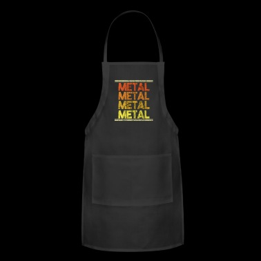 Metal Music Shirt - Gift - Adjustable Apron