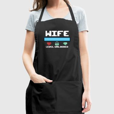 New Wife Gift Level Unlocked a New Fiancee Bride - Adjustable Apron