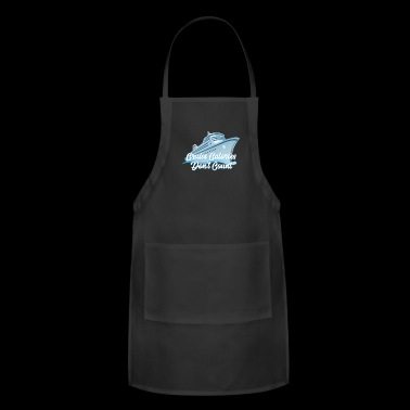 Family Cruise Vacation - Family Cruise 2018 - Cruise Calories Don't Count - Adjustable Apron