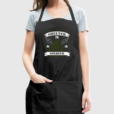 Shelter to soldier - Adjustable Apron