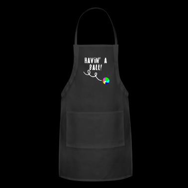 Havin Ball, Beach Ball Fun - Adjustable Apron