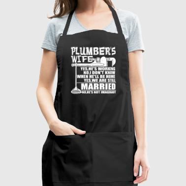Plumber's Wife T Shirt - Adjustable Apron