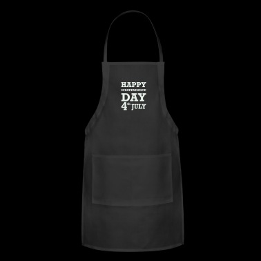 Happy 4th of July - Adjustable Apron
