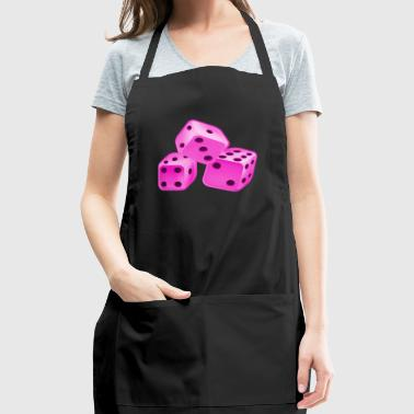Dice Pink - Adjustable Apron