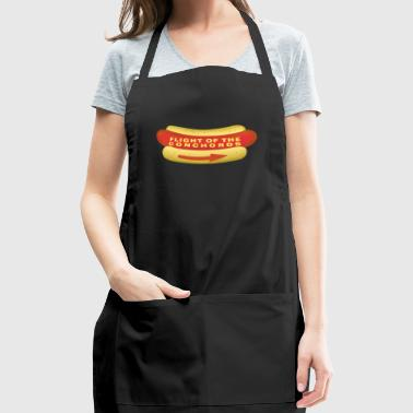 Flight Conchords Hotdog2 - Adjustable Apron