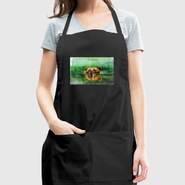 Swiming Grizz - Adjustable Apron