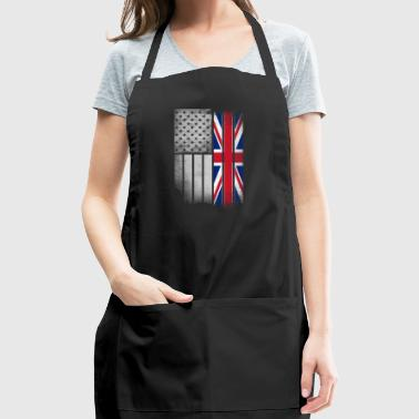 British American Flag - Adjustable Apron