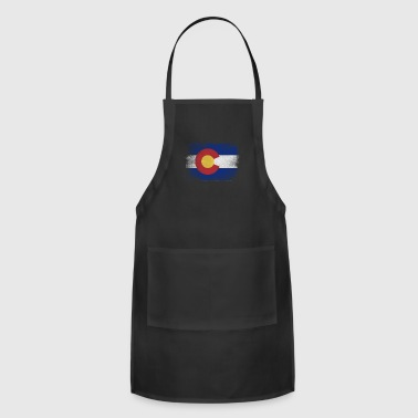 California State Flag Distressed Vintage - Adjustable Apron