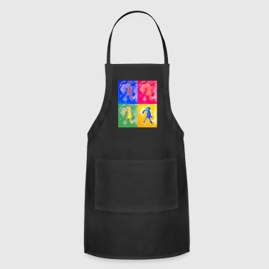 Pop Art Brash - Adjustable Apron