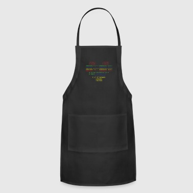 binary love - Adjustable Apron