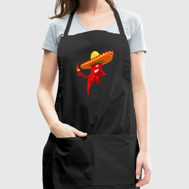 Chilli Chille Hot - Adjustable Apron